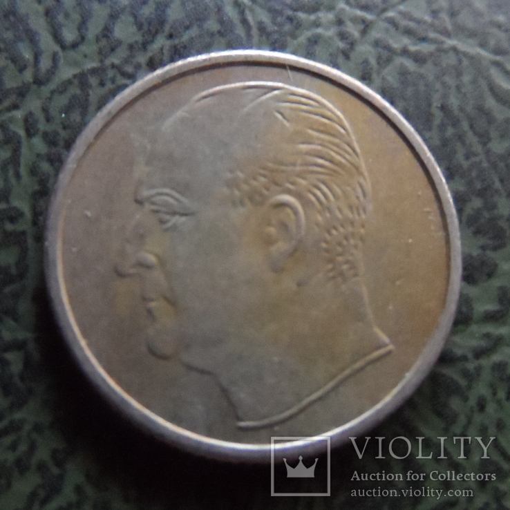 25  эре 1973  Норвегия    ($1.1.41) ~, фото №2