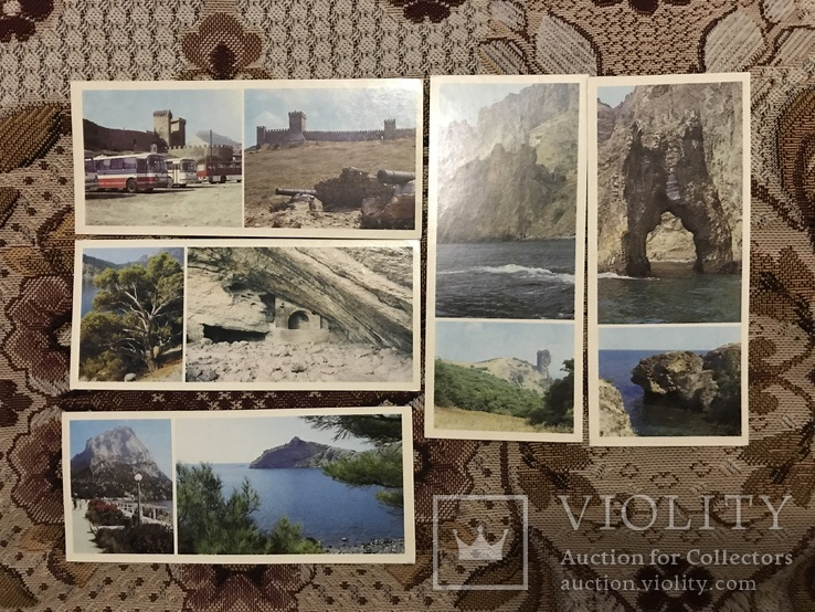 Набор открыток Судак, Планерське, Новий Світ, фото №3