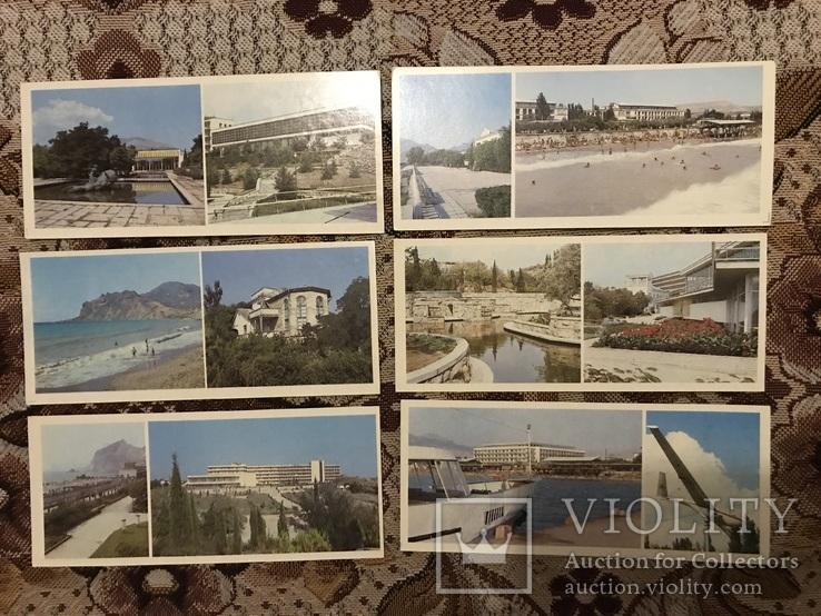 Набор открыток Судак, Планерське, Новий Світ, фото №4