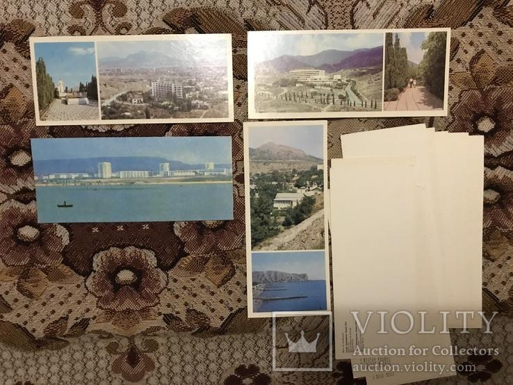 Набор открыток Судак, Планерське, Новий Світ, фото №5