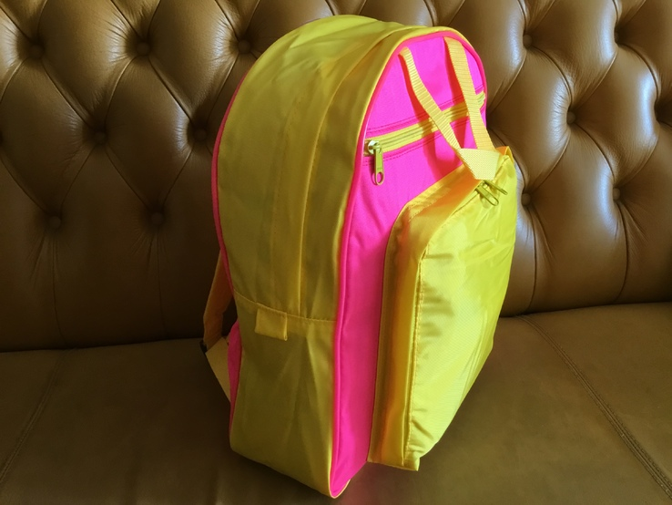 Яркий рюкзак-сумка для школы
