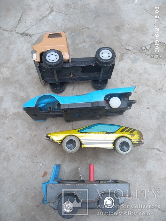 Лот автомобилей времён СССР, фото №3
