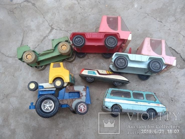 Лот автомобилей времён СССР, фото №2