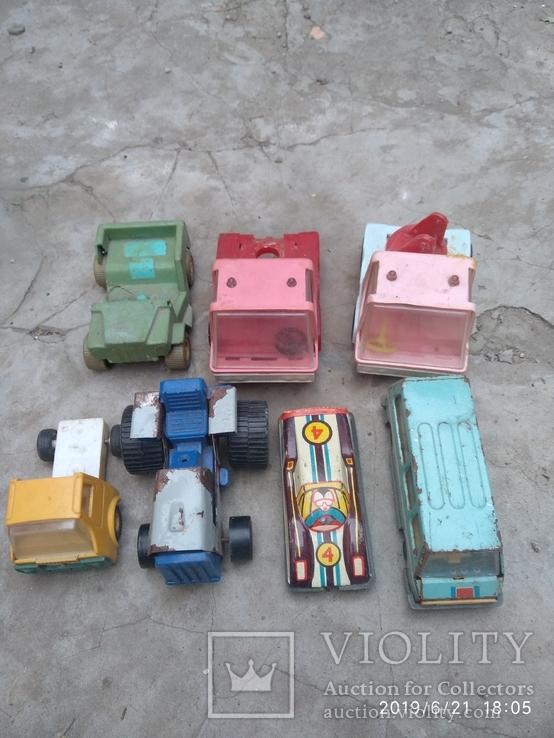 Лот автомобилей времён СССР, фото №7