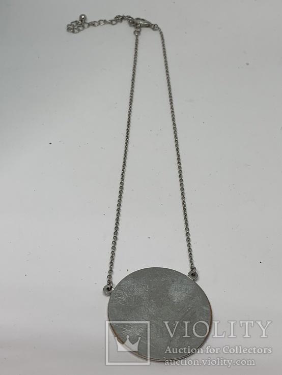 Круглый кулон на цепочке(2), фото №2