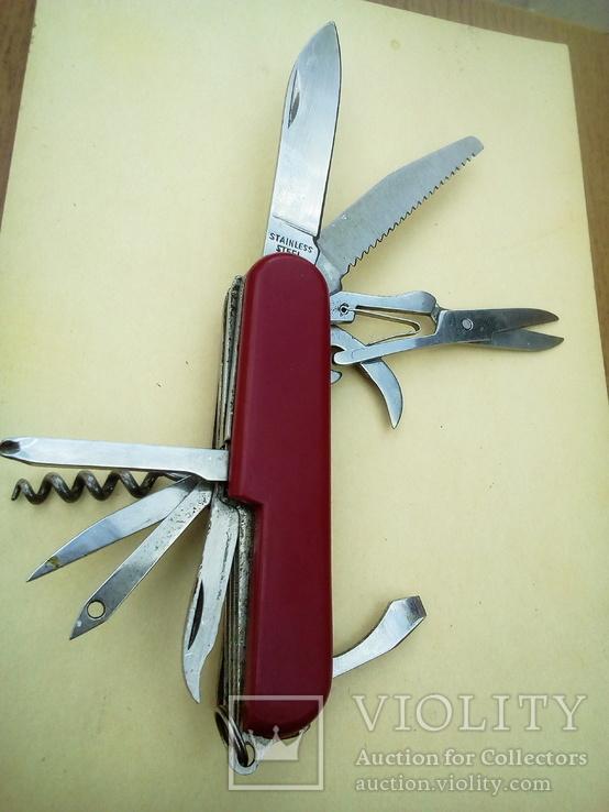 Стильный многофункциональный нож в коллекцию., фото №2