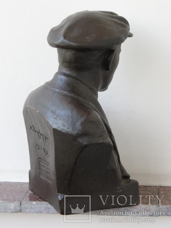 Бюст Ленина. Скульптура, Гжель., фото №6