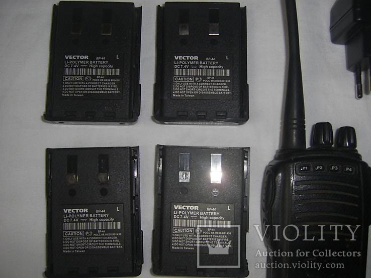 Р/станция Vector + 4 батареи +зарядка +бонус, фото №3
