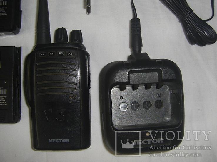 Р/станция Vector + 4 батареи +зарядка +бонус, фото №4