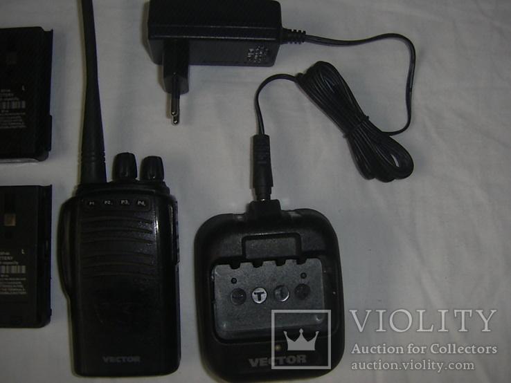 Р/станция Vector + 4 батареи +зарядка +бонус, фото №5