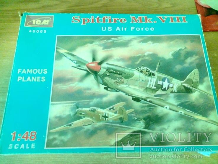 Spitfire Mk. VIII, 1/48, ICM, фото №2