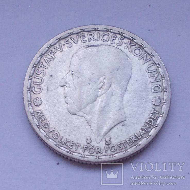 Швеция. 1 крона 1948 год.