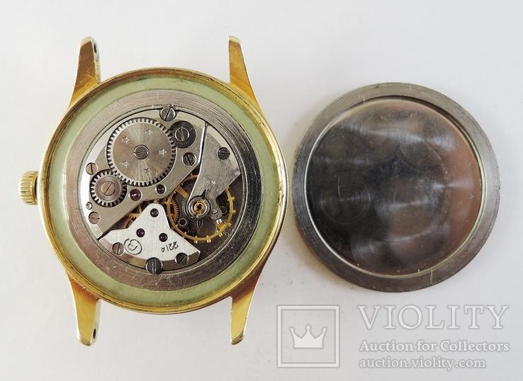 Часы Восток. Позолота AU10, фото №9