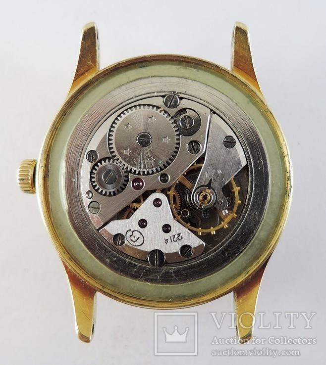 Часы Восток. Позолота AU10, фото №10