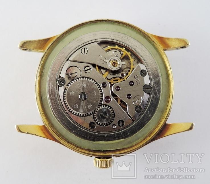 Часы Восток. Позолота AU10, фото №12