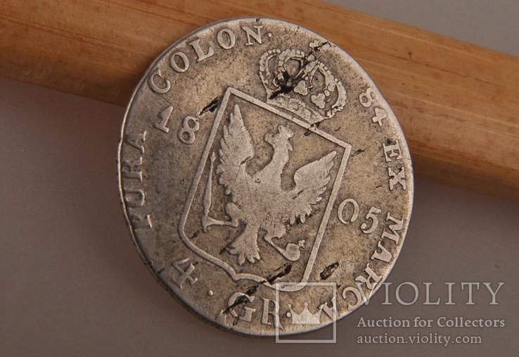 4 гроша 1805 года. Пруссия, Фридрих Вильгельм III. Серебро., фото №7