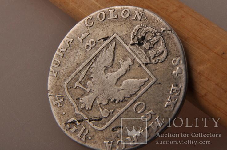 4 гроша 1805 года. Пруссия, Фридрих Вильгельм III. Серебро., фото №8