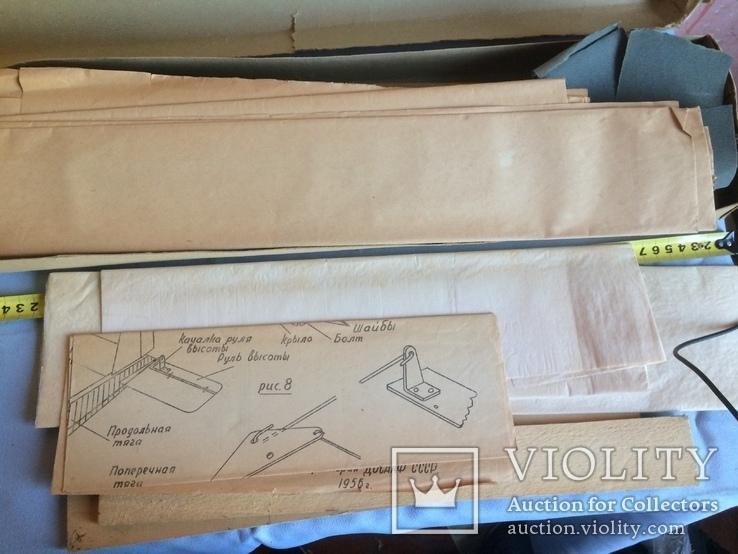 Сборная модель самолёта из дерева. Экземпляр старый, СССР, фото №9