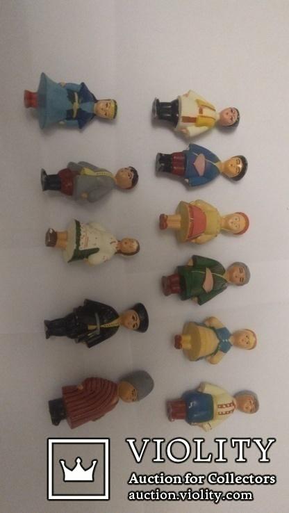 13 Фигурок из набора 15 республик СССР, фото №3