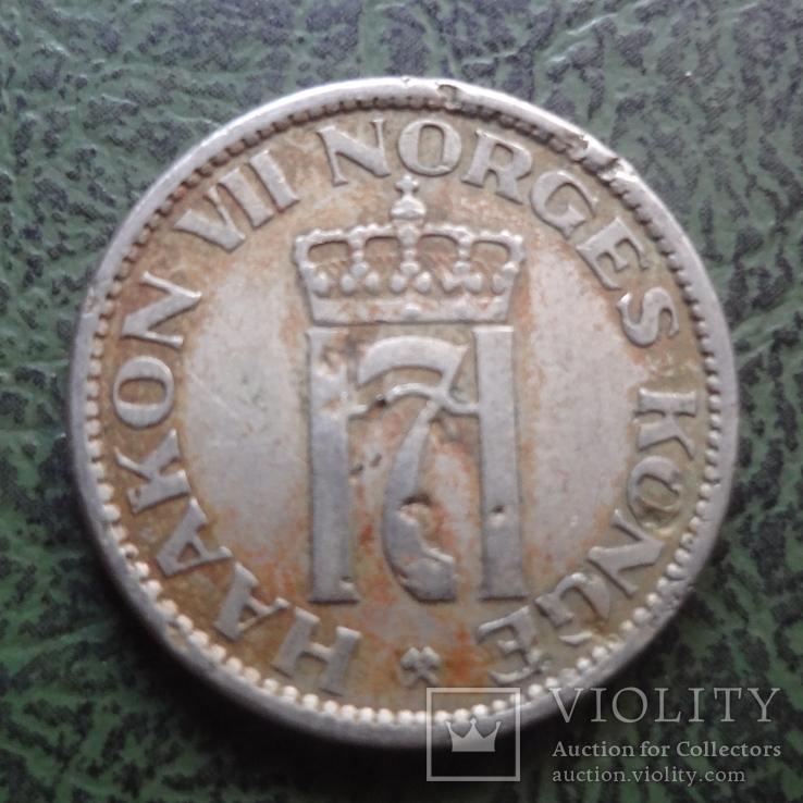 50 эре 1955  Норвегия    ($1.2.2) ~, фото №3