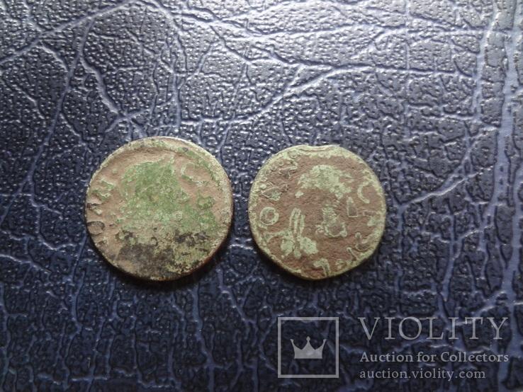 Солид боратинка 1664 + фальшак    ($5.1.39)~, фото №4