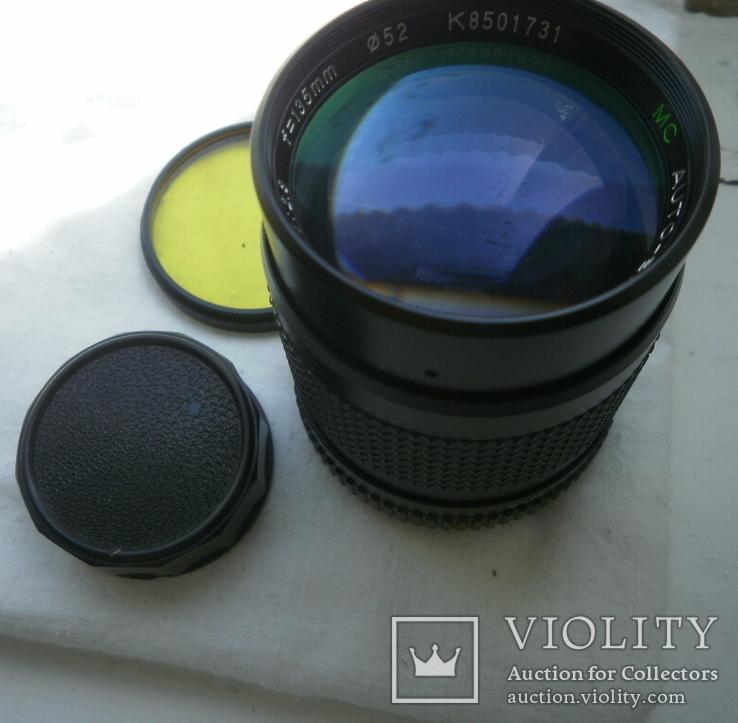 VC AUTO-BEROFLEX 1:2.8 f=135mm М42, фото №10