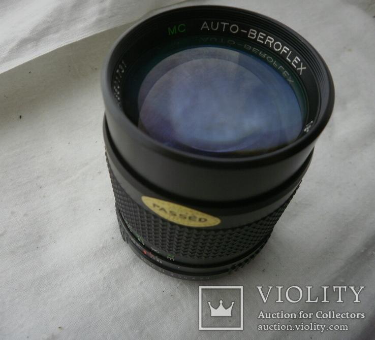 VC AUTO-BEROFLEX 1:2.8 f=135mm М42, фото №11