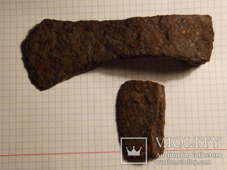 Боевой топор ( под реставрацию ) + лезвие, фото №3