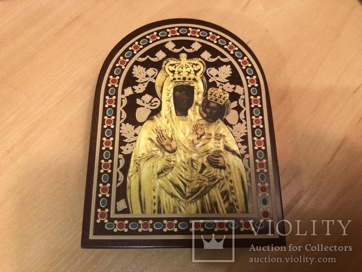 Ікона Зарваницької Матері Божої 1 долар срібло, фото №5