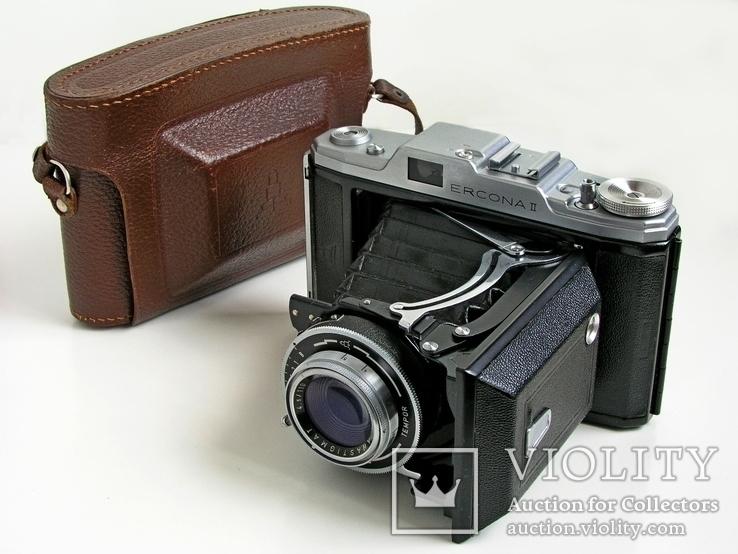 Фотоаппарат Ercona II,1956 год,VEB Zeiss Ikon,Германия.Гарантия 1 год.