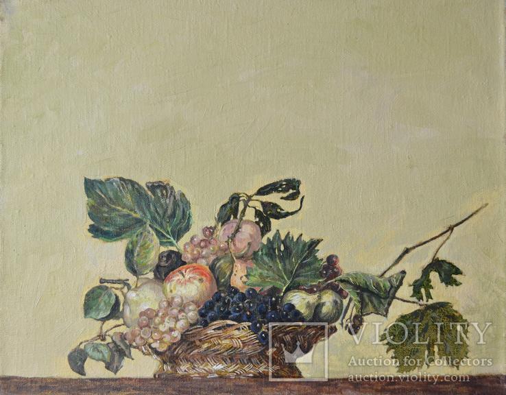 Копия с картины Автор: Микеланджело Караваджо,выполнил Креминский А,С