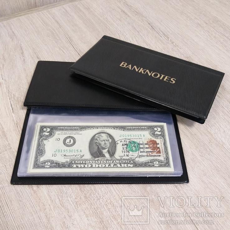 40 банкнот США по 2 доллара(доп. фото в коментариях)