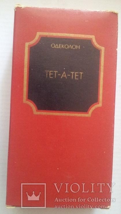 """Одеколон """"Тет а Тет""""(Тете-а-Тете). Франция-СССР, фото №3"""