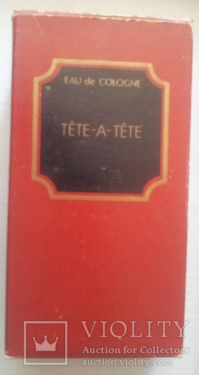"""Одеколон """"Тет а Тет""""(Тете-а-Тете). Франция-СССР, фото №5"""