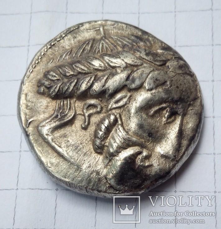 Подражания тетрадрахмам Филиппа ІІ Македонского.