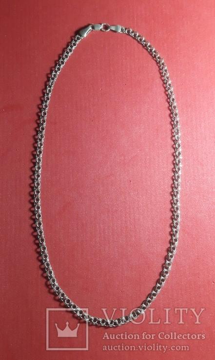 Серебренная  цепочка, фото №2