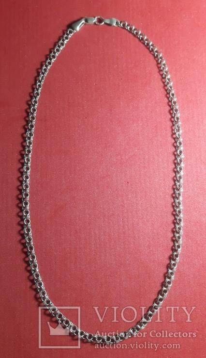 Серебренная  цепочка, фото №3