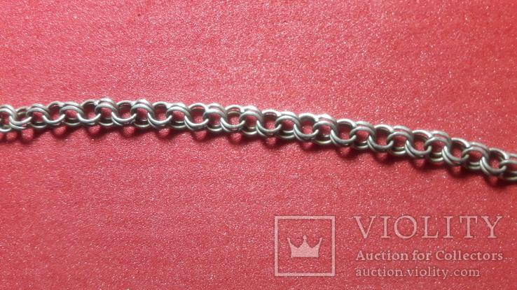 Серебренная  цепочка, фото №4