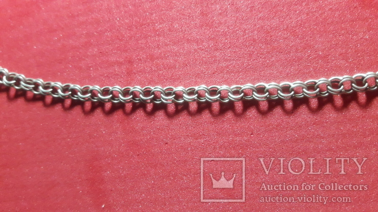 Серебренная  цепочка, фото №6