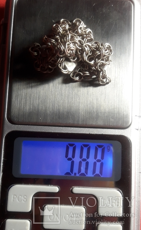 Серебренная  цепочка, фото №8