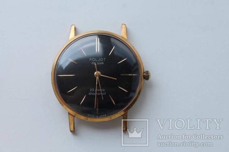 Часы Poljot de luxe, 1 МЧЗ, 2209, 23 камня, AU10