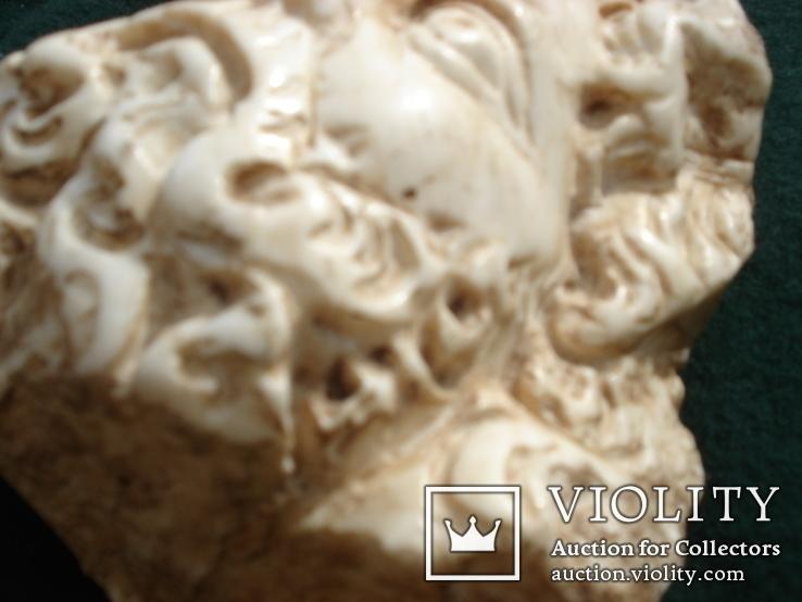 Голова божества,мрамор, фото №6