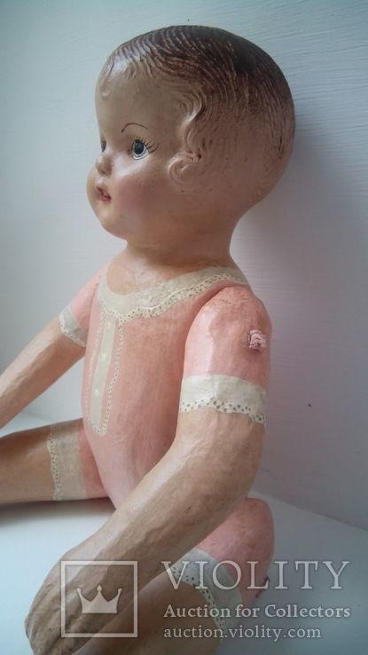 Старинная кукла папье маше неопознанная, фото №6