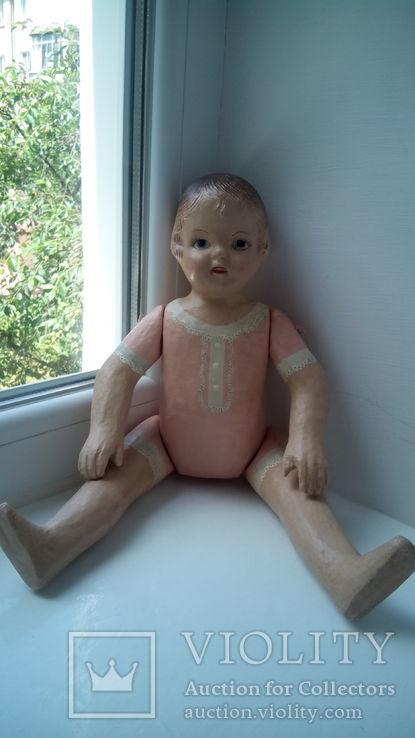 Старинная кукла папье маше неопознанная, фото №7