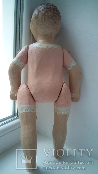 Старинная кукла папье маше неопознанная, фото №12
