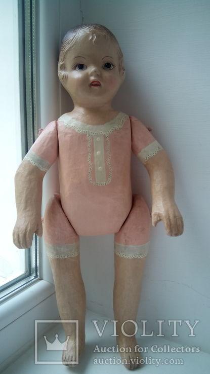Старинная кукла папье маше неопознанная, фото №13