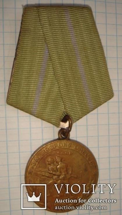 За оборону Одессы, боевая, родной сбор, запаяное кольцо., фото №4