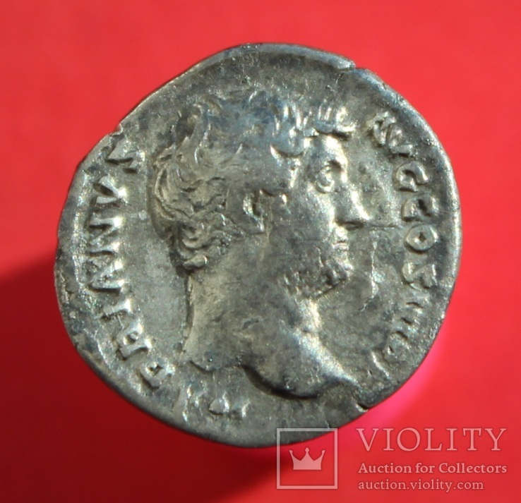 Денарий Hadrian (RIC II 241A - RSC716)