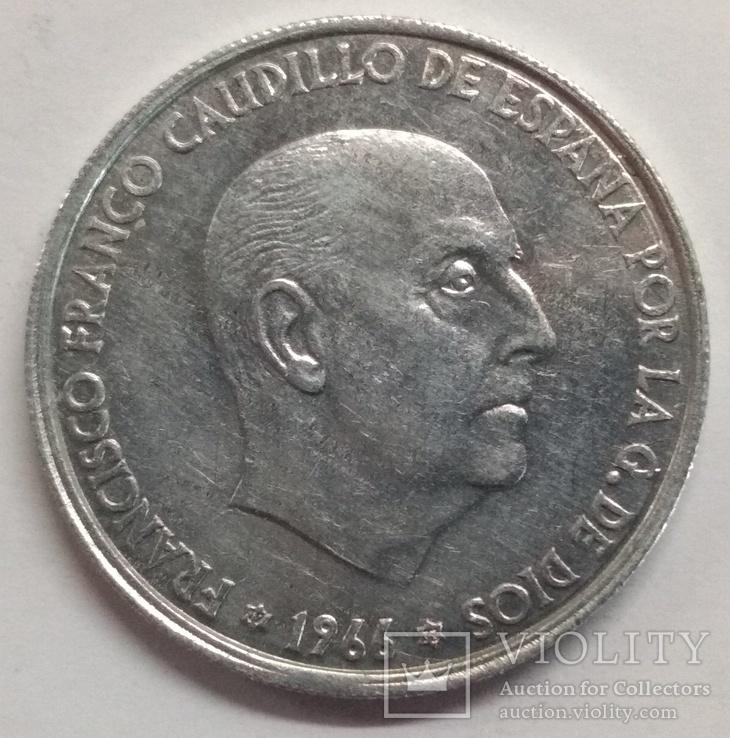 Испания 50 сентимо 1966, фото №3