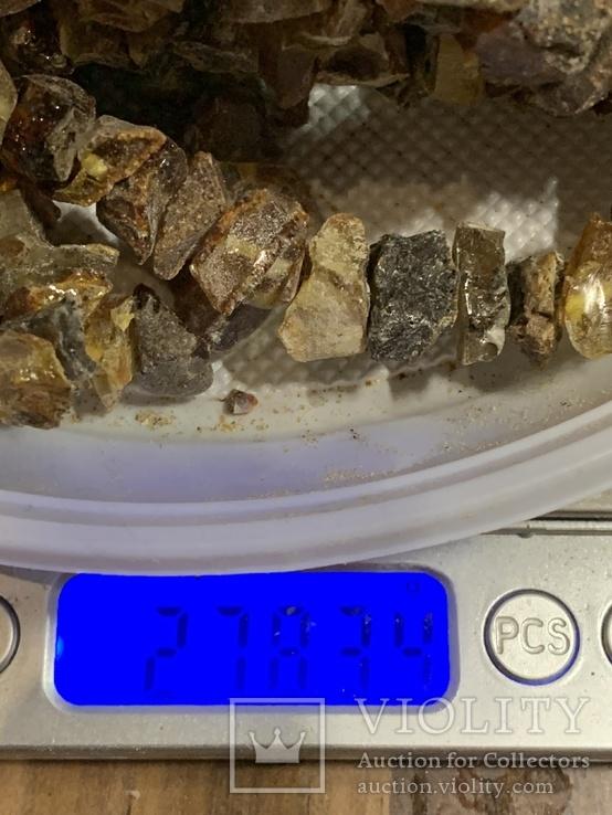 5  бус из янтаря общим весом 278 грамм(2), фото №6